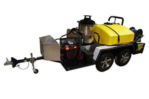 Cam Spray Mobile Diesel Heated Pressure Washer